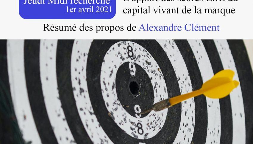 Jeudi Midi de la recherche de l'Observatoire du 1er Avril 2021
